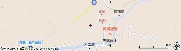 大分県竹田市直入町大字長湯8027周辺の地図