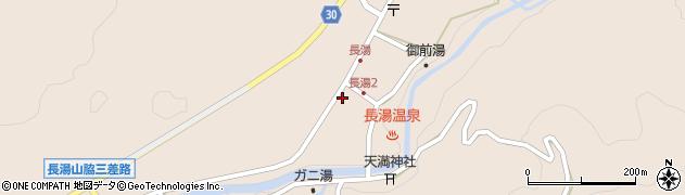 大分県竹田市直入町大字長湯8008周辺の地図