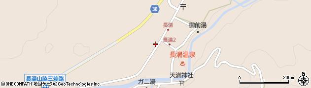 大分県竹田市直入町大字長湯8029周辺の地図