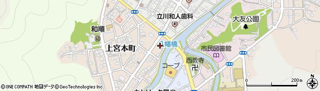 大分県津久見市上宮本町1周辺の地図