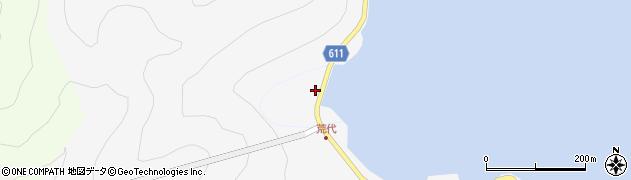 大分県津久見市四浦392周辺の地図