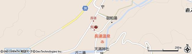 大分県竹田市直入町大字長湯7985周辺の地図