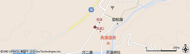 大分県竹田市直入町大字長湯8030周辺の地図