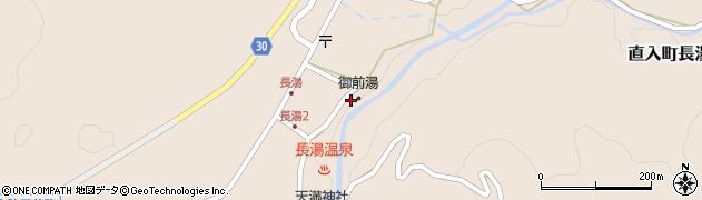 大分県竹田市直入町大字長湯7962周辺の地図