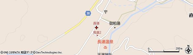 大分県竹田市直入町大字長湯7982周辺の地図