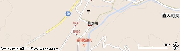 大分県竹田市直入町大字長湯7961周辺の地図