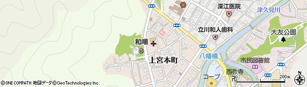 大分県津久見市上宮本町19周辺の地図