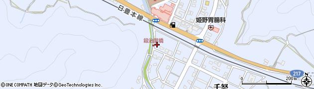 大分県津久見市千怒7134周辺の地図