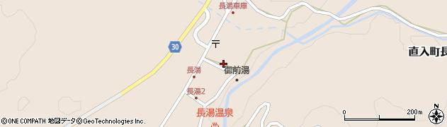 大分県竹田市直入町大字長湯7952周辺の地図