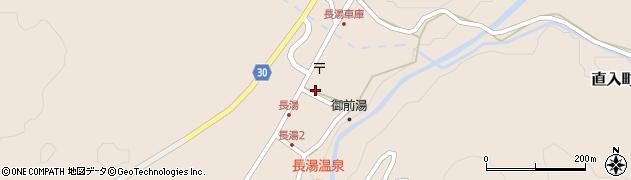 大分県竹田市直入町大字長湯7951周辺の地図