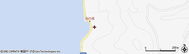 大分県津久見市四浦4075周辺の地図