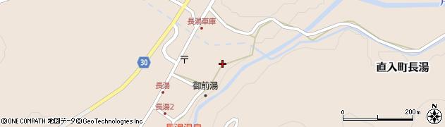 大分県竹田市直入町大字長湯7968周辺の地図