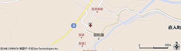 大分県竹田市直入町大字長湯7950周辺の地図