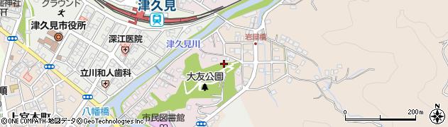 大分県津久見市大友町10周辺の地図
