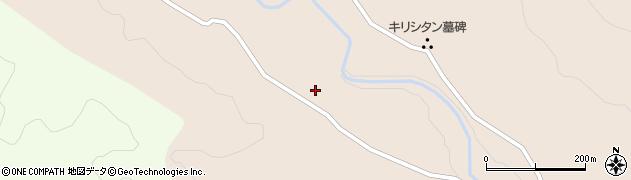 大分県竹田市直入町大字長湯下河原周辺の地図