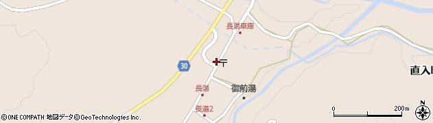 大分県竹田市直入町大字長湯8045周辺の地図