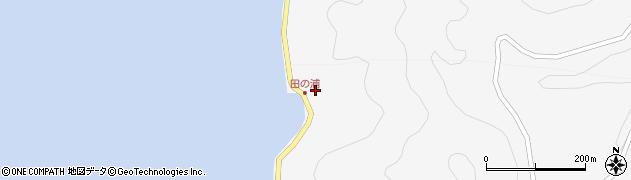 大分県津久見市四浦4083周辺の地図