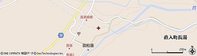 大分県竹田市直入町大字長湯7932周辺の地図