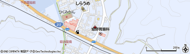 大分県津久見市千怒6071周辺の地図