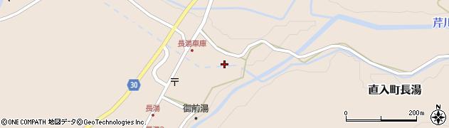 大分県竹田市直入町大字長湯7935周辺の地図