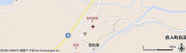 大分県竹田市直入町大字長湯7941周辺の地図