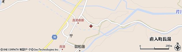 大分県竹田市直入町大字長湯7936周辺の地図