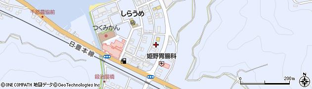 大分県津久見市千怒6073周辺の地図