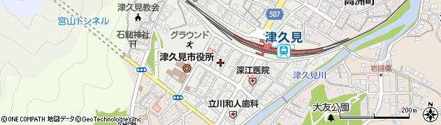 大分県津久見市宮本町15周辺の地図