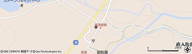 大分県竹田市直入町大字長湯8059周辺の地図