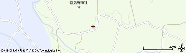 大分県竹田市久住町大字仏原1867周辺の地図