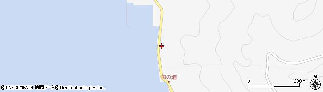 大分県津久見市四浦5330周辺の地図