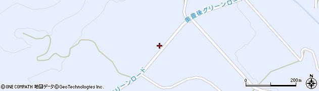 大分県竹田市久住町大字有氏2863周辺の地図