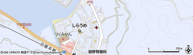 大分県津久見市千怒6201周辺の地図