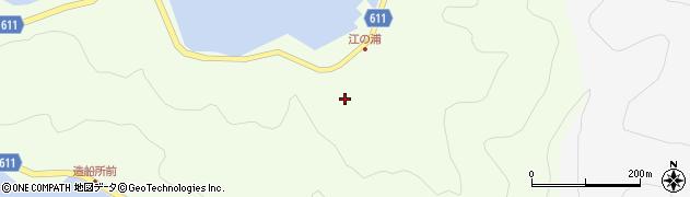 大分県津久見市網代3807周辺の地図