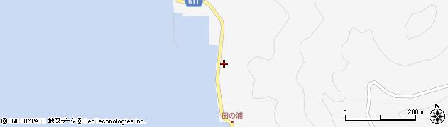 大分県津久見市四浦5313周辺の地図