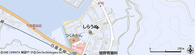 大分県津久見市千怒6177周辺の地図