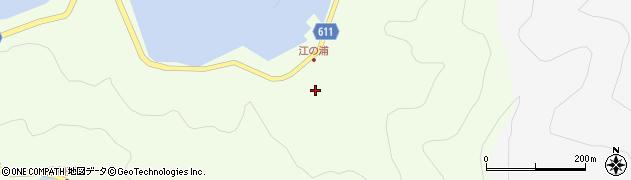 大分県津久見市網代3821周辺の地図