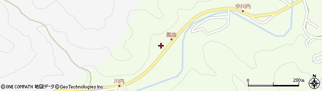大分県津久見市上青江6670周辺の地図
