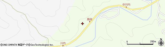 大分県津久見市上青江6669周辺の地図
