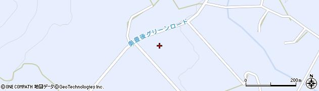 大分県竹田市久住町大字有氏岳麓寺周辺の地図