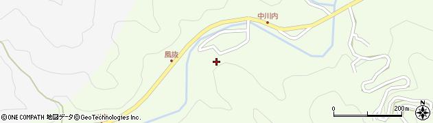 大分県津久見市上青江6585周辺の地図