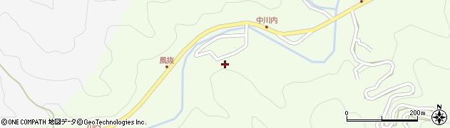 大分県津久見市上青江6598周辺の地図