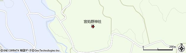 大分県竹田市久住町大字仏原周辺の地図