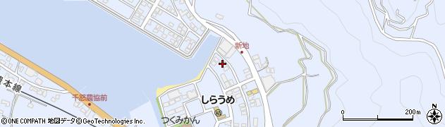 大分県津久見市千怒6153周辺の地図