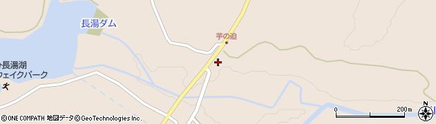 大分県竹田市直入町大字長湯8108周辺の地図