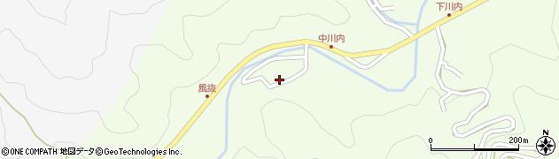 大分県津久見市上青江6592周辺の地図