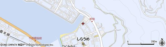 大分県津久見市千怒6149周辺の地図