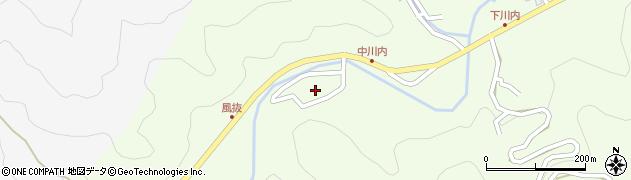 大分県津久見市上青江6594周辺の地図