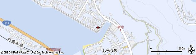 大分県津久見市千怒5113周辺の地図