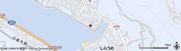 大分県津久見市千怒5125周辺の地図